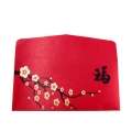 Silk Red Envelop Design